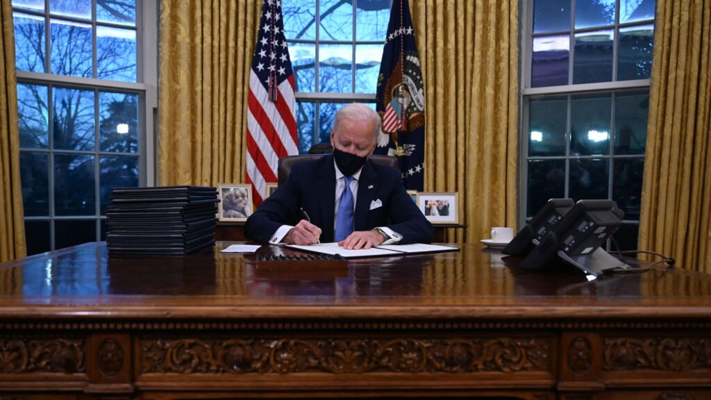 U.S. Democrats take the first step to go it alone on Biden's COVID-19 aid
