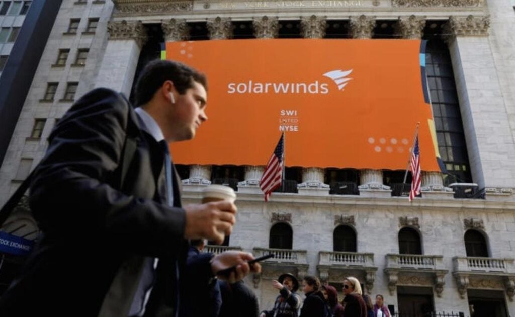 Suspected Chinese hackers used SolarWinds